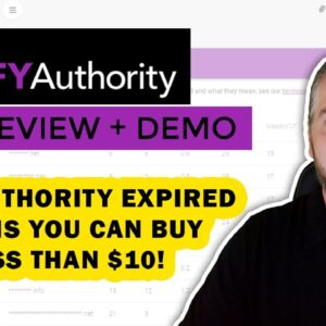 DFY Authority Review & Demo: Find Expired Domains With DFY Authority