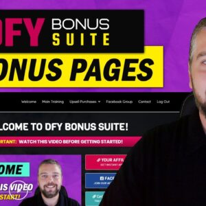 DFY Bonus Suite Review: Create Bonus Pages & Review Pages
