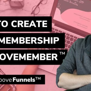How to create your Membership in GrooveMember™