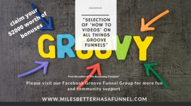 The latest offering from Groove Funnels - Groove Member