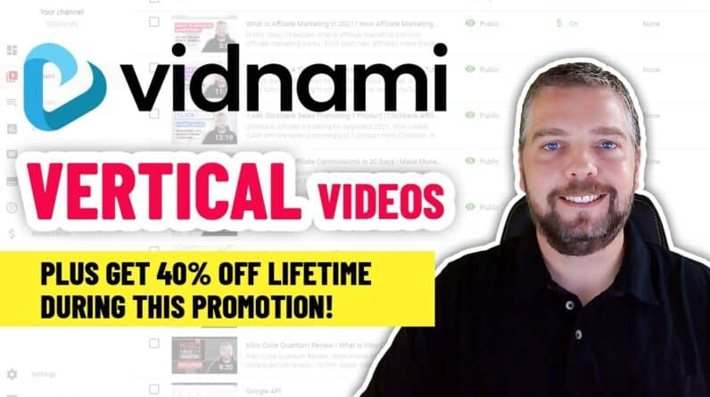 Vidnami Adds 50 New Vertical Templates + 40% Off Lifetime [DEMO]