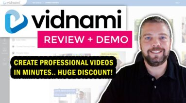 Vidnami Review & Demo: Vidnami Free Trial + Discount