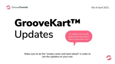 GrooveKart updates April 2021